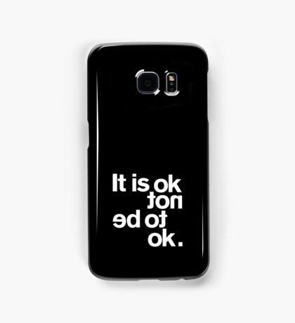IT IS OK NOT Samsung Galaxy Case/Skin