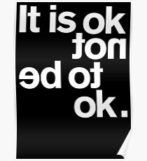 IT IS OK NOT Poster