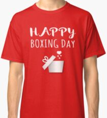 Boxing Day Christmas Holiday Traditions Classic T-Shirt