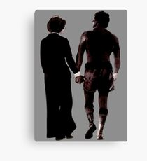 Rocky and Adrian Canvas Print