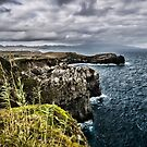 Beautiful seaside view in the Azores by Sven Brogren
