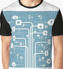Office a line Graphic T-Shirt