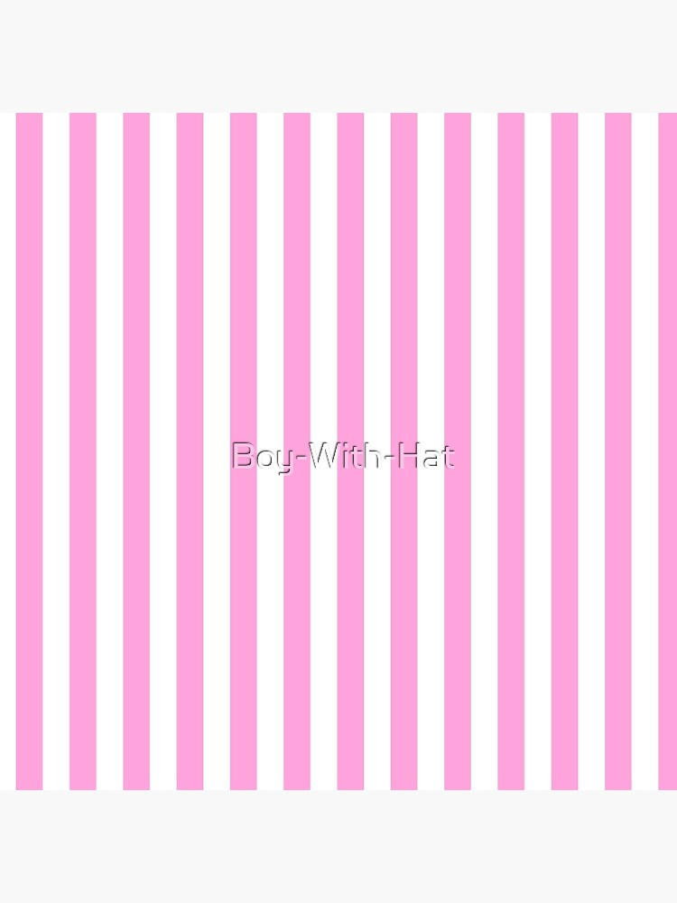 Stripes Pink White by Boy-With-Hat