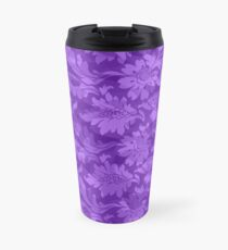 Floral - Purple Subtle Travel Mug