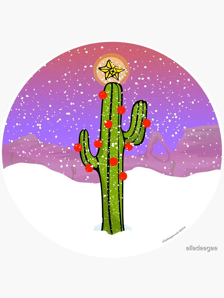 Christmas Cactus by elledeegee