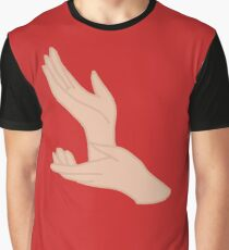 Twin Peaks Meanwhile Laura Palmer Hands Graphic T-Shirt