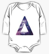 Bastille Triangle Logo (Galaxy Print) One Piece - Long Sleeve