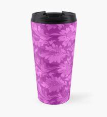 Floral - Pink Subtle Travel Mug