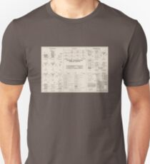 Cocktail Construction Chart by United States Forest Service T-Shirt