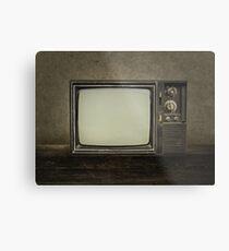 Vintage Television Metal Print
