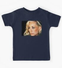 Blond Woman Kids Tee