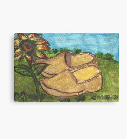 Vincent Was Here..(A Tribute To Van Gogh) Canvas Print