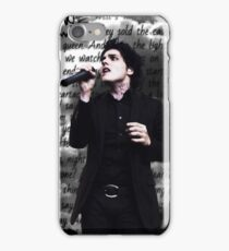 Gerard Way, Disenchanted iPhone Case/Skin