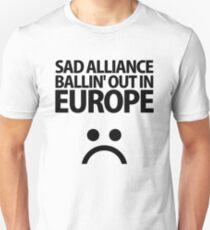SAD▲ALLIANCE Black Unisex T-Shirt