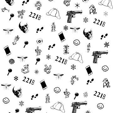 Sherlock Christmas pattern by annyskod