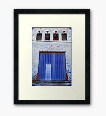 Facade 37 Framed Print