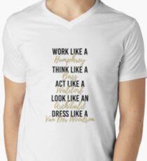 Live Like Gossip Girl 2 Men's V-Neck T-Shirt
