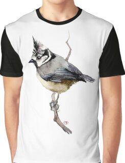 bird on branch Graphic T-Shirt