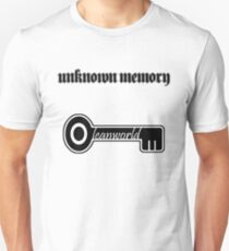 Leanworld × Unknown Memory Black Unisex T-Shirt