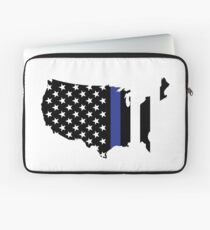 Thin Blue Line - America Laptop Sleeve