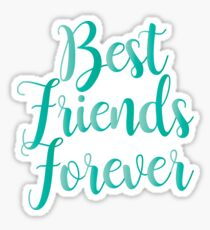 Best Friend Forever Stickers