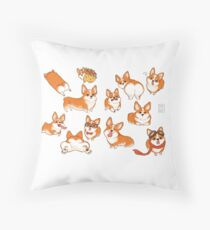 Corgi! Throw Pillow