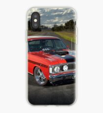Red Ford XY GT Replica iPhone Case