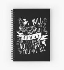 Cuaderno de espiral Te tendré sin armadura | Seis de cuervos