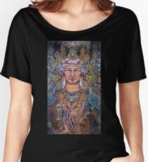 Manjushri and the Dharmachakra mudra Women's Relaxed Fit T-Shirt