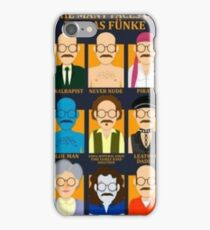 Many Faces of Tobias iPhone Case/Skin