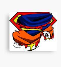 Super Who? Goku  Canvas Print