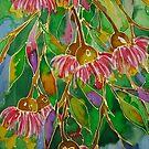 Bush Dreaming - silk painting by chasingsooz