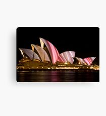 Opera in C Canvas Print