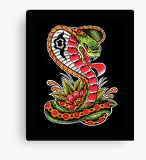 Traditional Cobra Canvas Print