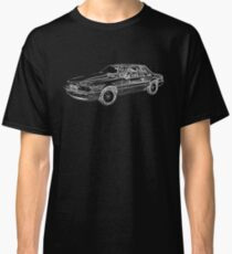 Mustang Fox Body Sports Car  Classic T-Shirt