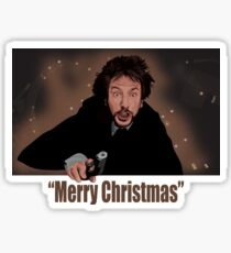 """""""Merry Christmas love from Hans"""" Sticker"""