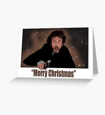 """Merry Christmas love from Hans"" Greeting Card"