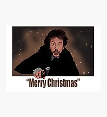 """""""Merry Christmas love from Hans"""" Photographic Print"""