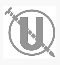 Holtzmann's Screw U Emblem Photographic Print