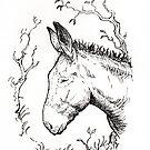 Pensive donkey by ChristmasPress