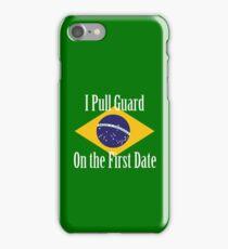 First Date BJJ (White) iPhone Case/Skin