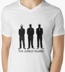 The Lonely Island Silhouette Men's V-Neck T-Shirt