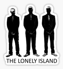 The Lonely Island Silhouette Sticker