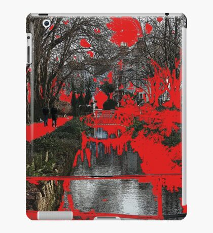 seeing red iPad Case/Skin