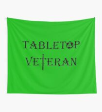 Tabletop Veteran Wall Tapestry