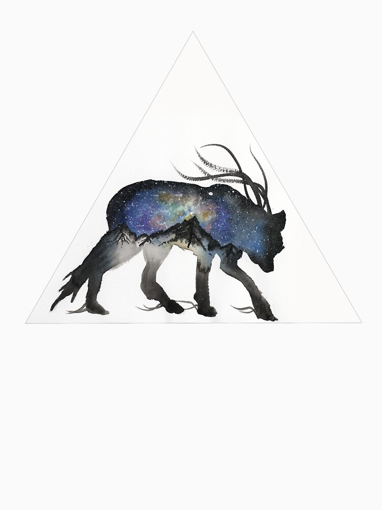 Alaskan Galaxy Wolf. by creaturesofnat