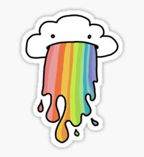 Rainbow Cloud Sticker