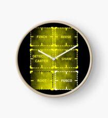 Heroes of Interest Clock
