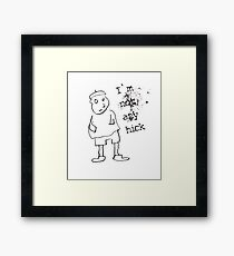 I am not hick Framed Print