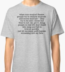 Non Musical Theatre People Classic T-Shirt